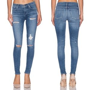 AGOLDE Sophie High Rise Skinny in Cannes